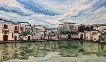 2019中国黄山(黟县)青年写生艺术季优秀作品