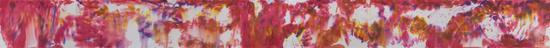王清州作品 《静谧之二》50x640cm 纸本水墨 2018