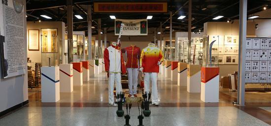 李祥个人1000余平方的中国体育与国际奥林匹克综合展厅