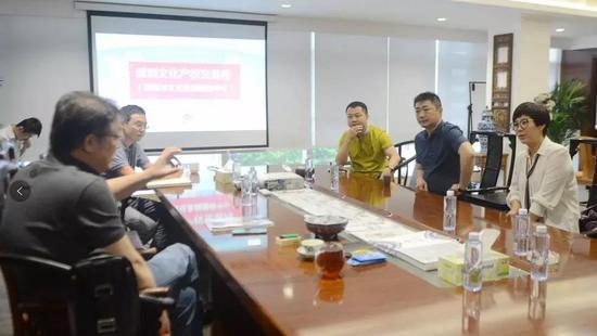 深圳文交所领导与《收藏马未都》负责人座谈交流