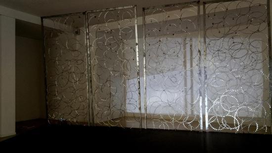展场:《界》装置影像