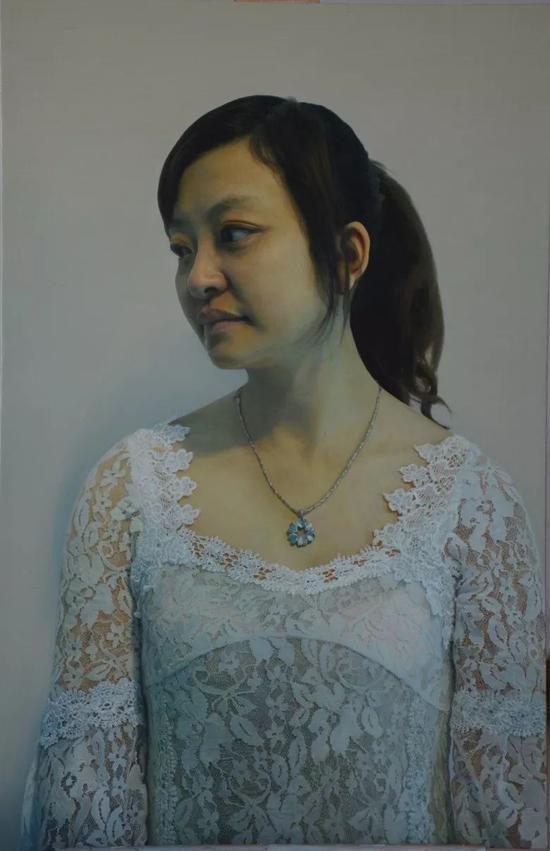 王玉海  【拧】   72×110cm   布面油画    2013
