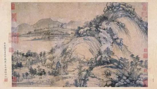 富春山居图 · 剩山图(吴湖帆旧藏)   黄公望   元代现藏于浙江省博物馆
