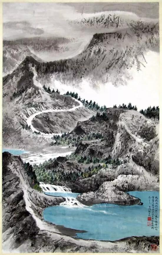 山水   张守成   1980年作   上海中国画院藏