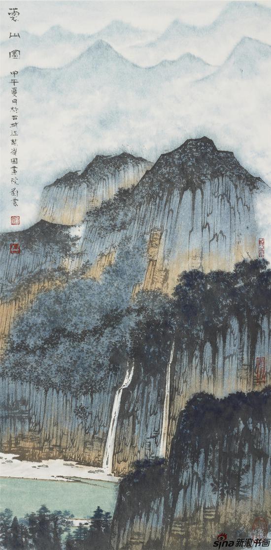 云山图 64.5×32 2014