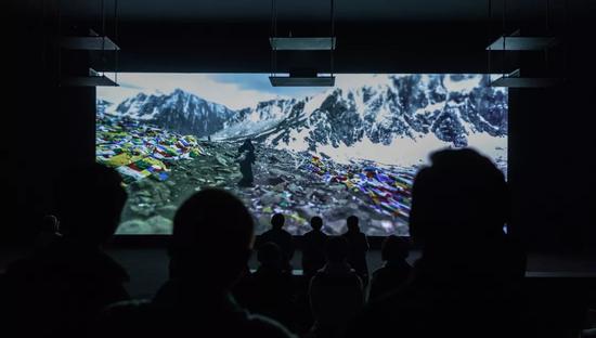 《廓拉》红砖美术馆展出现场刘肇兴2011-12