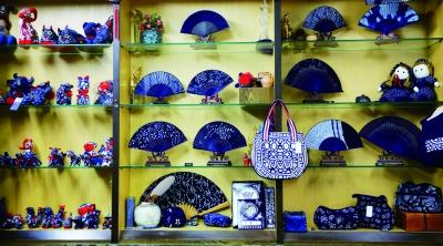 蓝印花布新品种