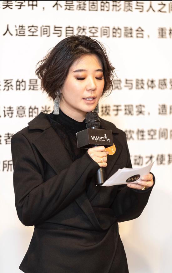 央·美術館館長、策展人王兆坤女士發言