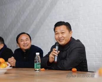 中联部西黄寺博物馆馆长郑大庆先生致辞