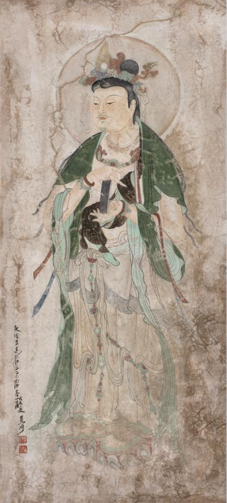黄有为的壁画艺术鉴赏:艺取敦