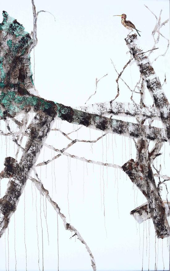刘叔辉 《童色安年3》190×120cm