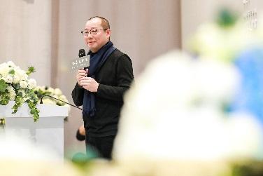 陈琦在开幕式发言 德基美术馆 供图