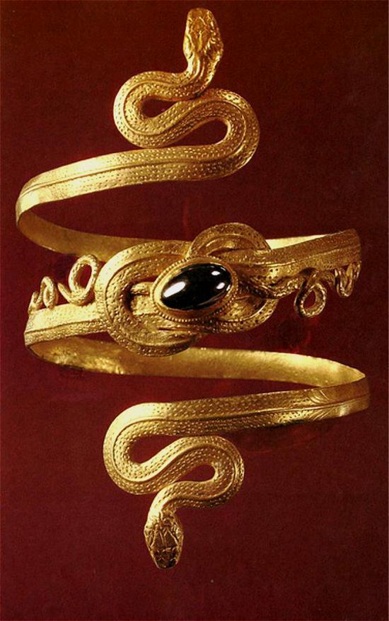▲古埃及手镯(罗马时期)