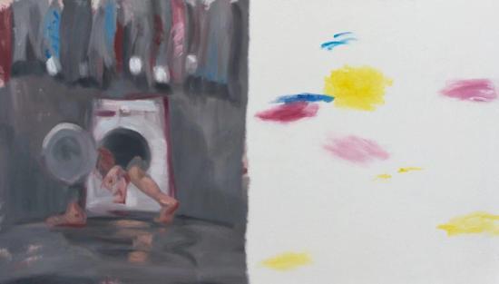 谢南星,《香料No.6》,布面油画,220 x 380 cm,2017