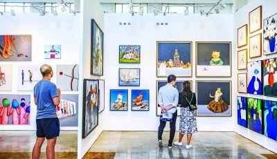 """""""艺术北京""""博览会闭幕创十三届来人数之最。"""