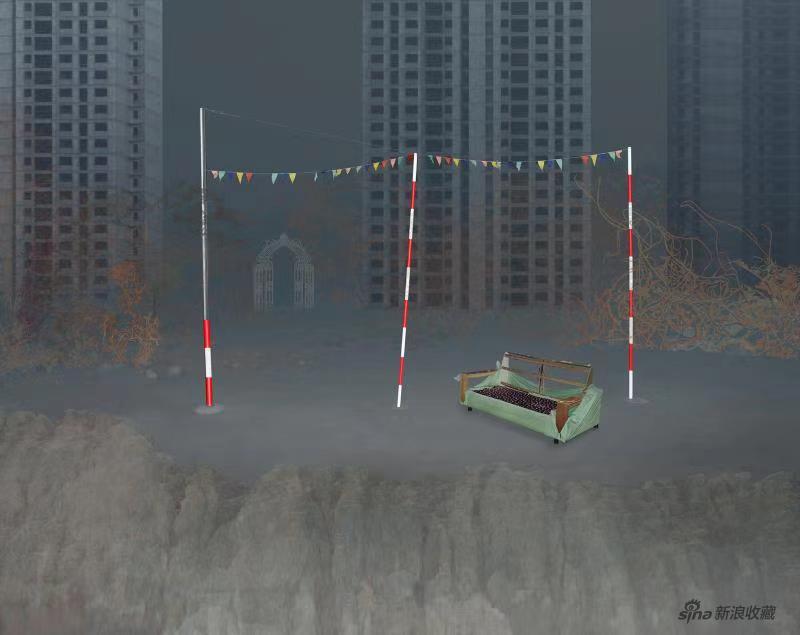 《图层系列-驾校》 李政德 数码摄影1_6 119×150cm 2019