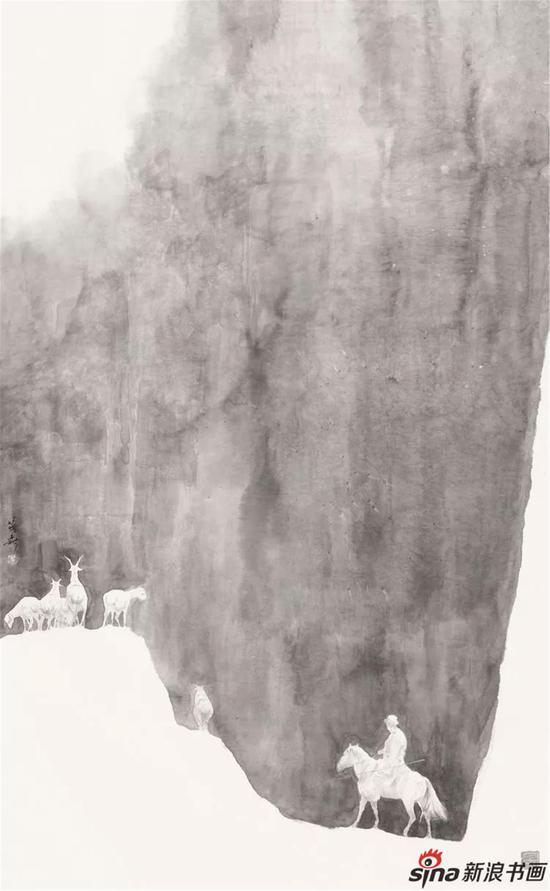 《西游墨痕》盖茂森艺术馆开馆作品展之一