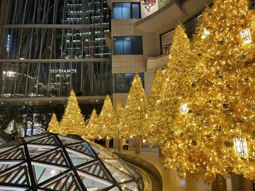 K11户外中庭圣诞树 现场图