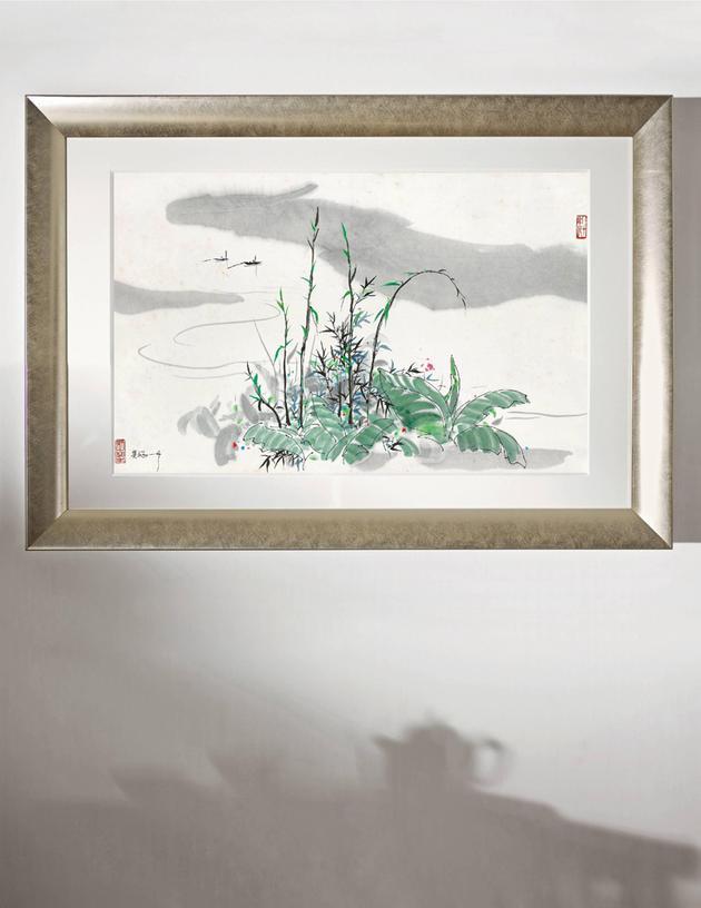北京誠軒2020秋拍:吳冠中青衣江189.75 萬成交