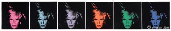 安迪沃霍尔《六幅自画像》