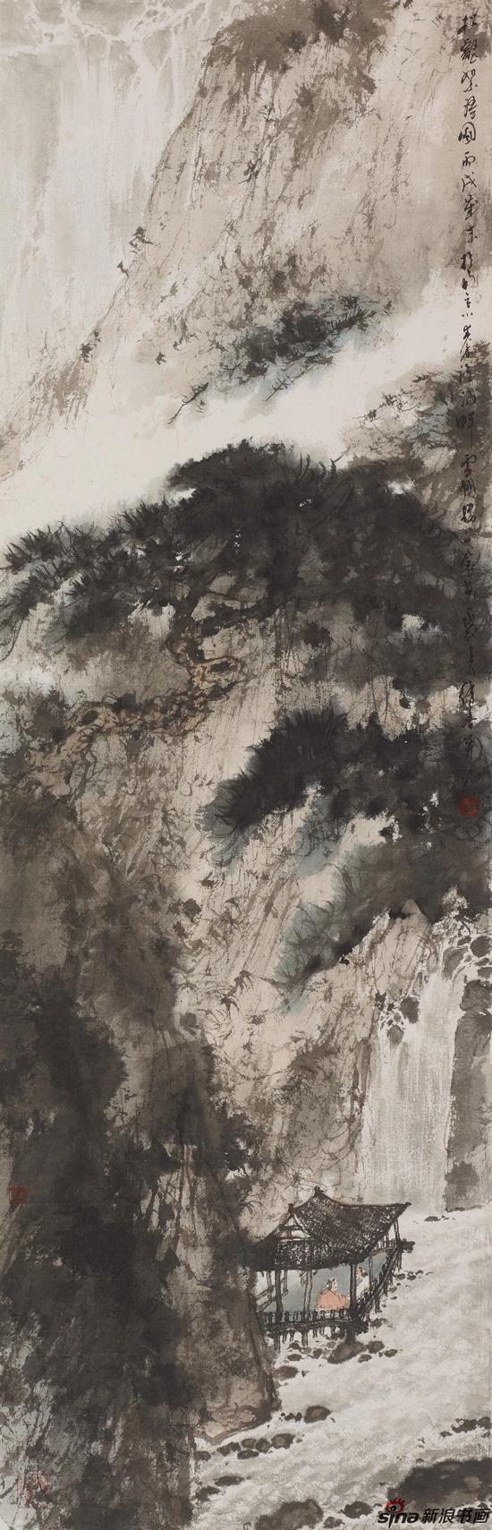 《松壑絮语图》2006