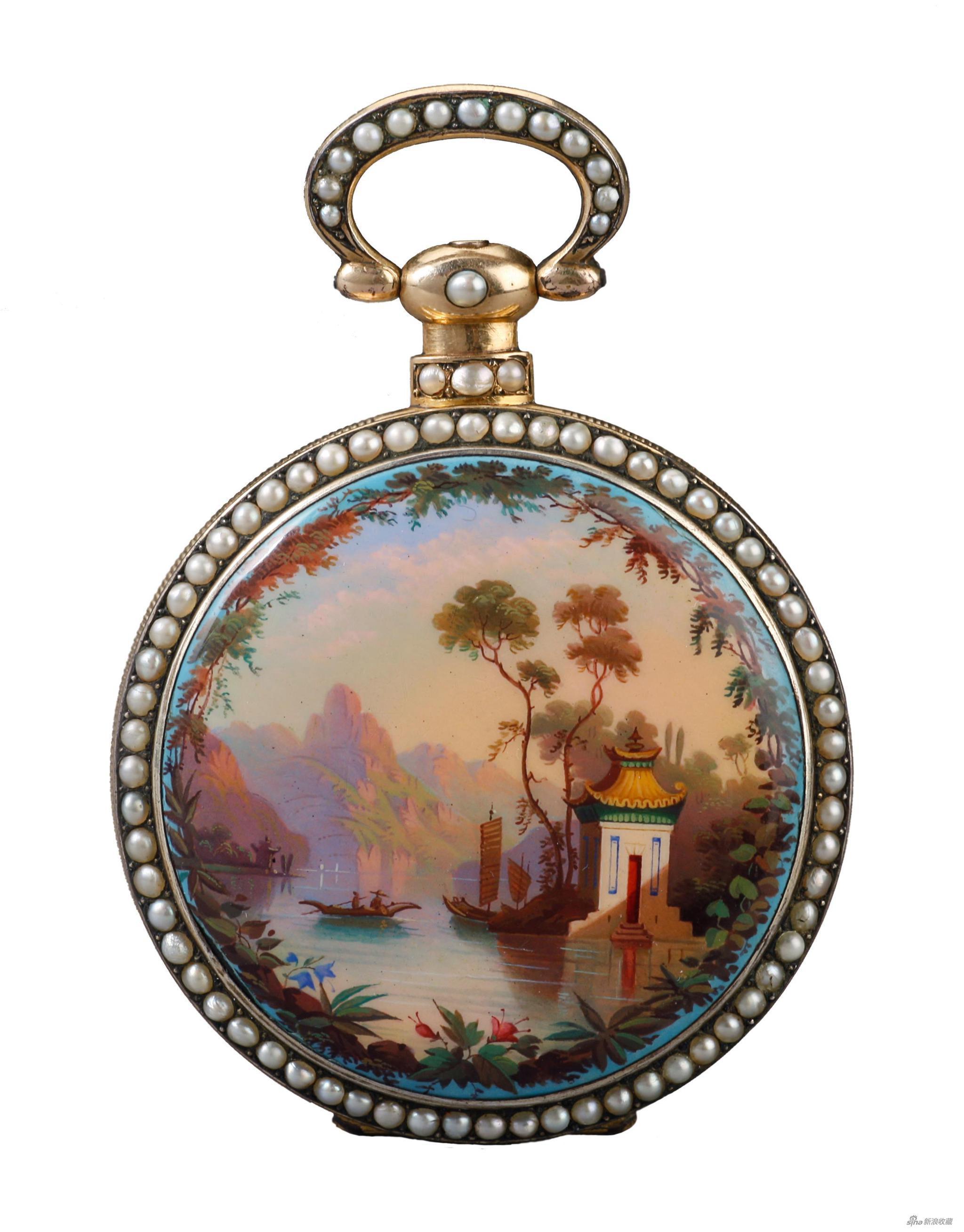 《大八件怀表》,特别项目《时间的轨迹—钟表艺术特展》,来自时计堂