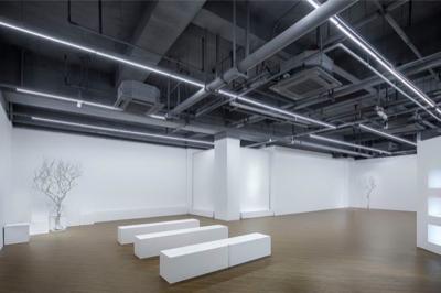 ▲1/2 Art Space半空间,城市泛艺术体验复合空间。