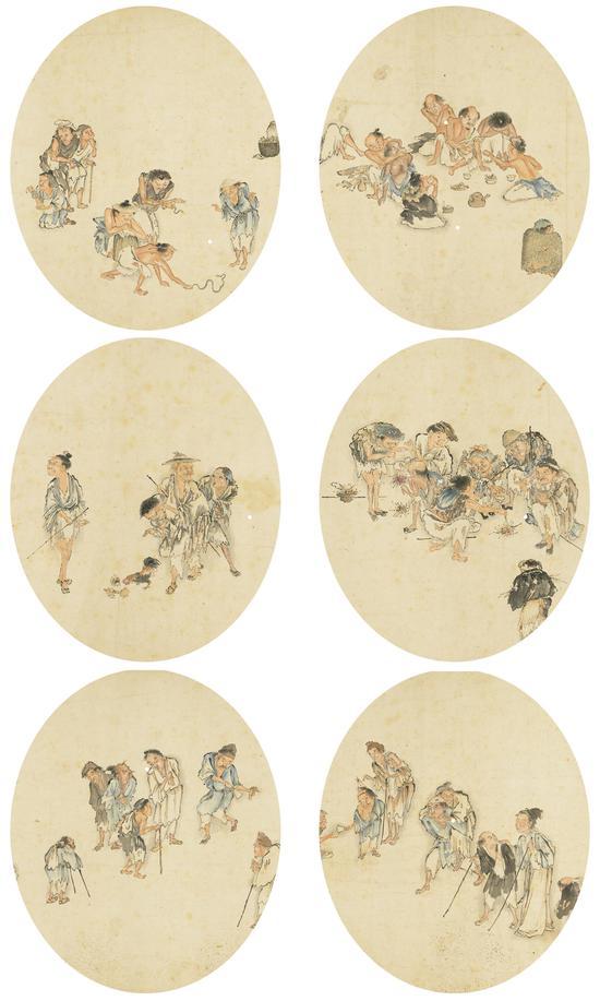 流民图Lot 1731 局部