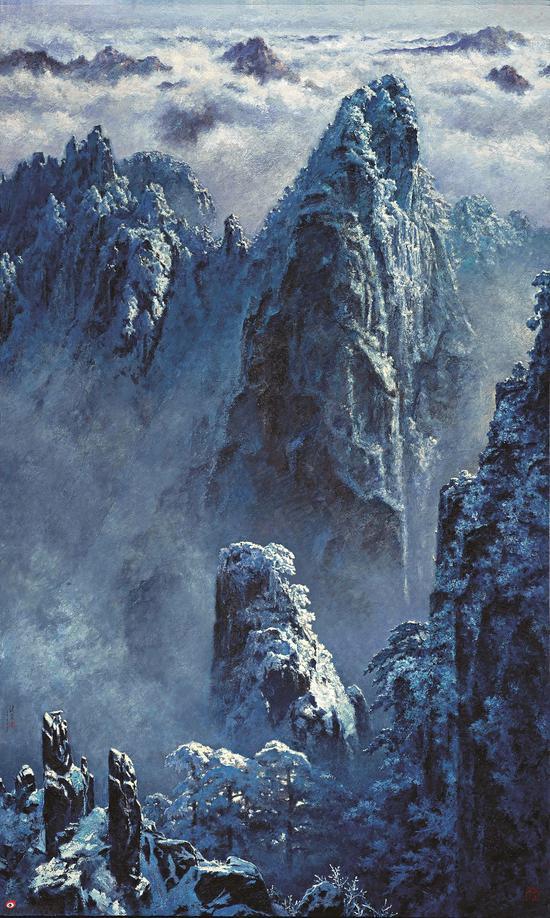 冬?雪山归来 300×180 cm 2011