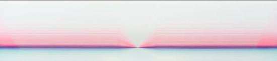 次元序列, No.02 Dimensional Sequence No.02, 200x45 cm, oil on canvas, 2018