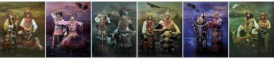 《净土》西藏系列组画 2013年