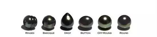 天然珍珠的形状