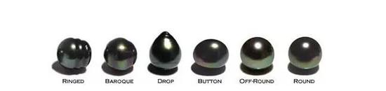 天然珍珠的圆度