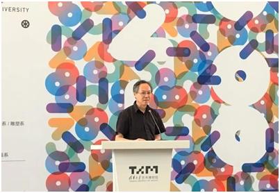 清华大学美术学院院长鲁晓波老师