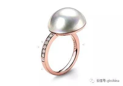 TASAKI Pearl Basic马贝珠戒指