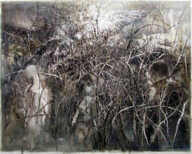 于祖培 《重生系列28》 120x150cm 布面油画 2016年