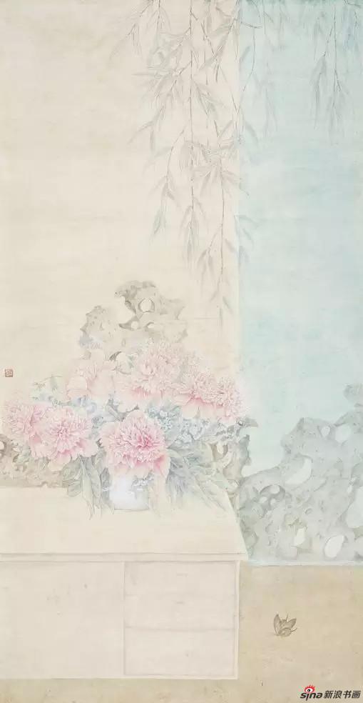 《蝶恋花》_樊蕾 136cm×68cm