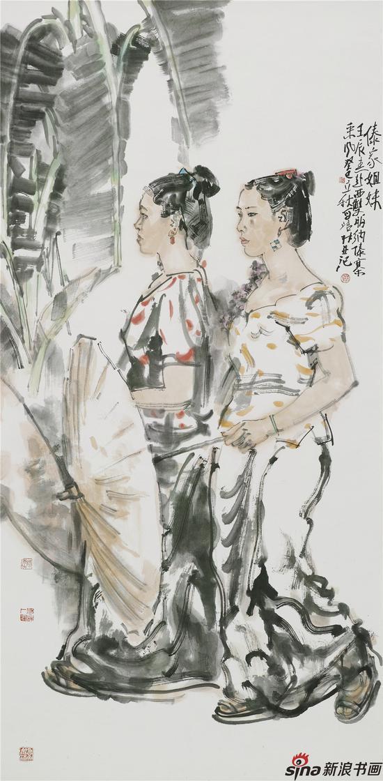 傣家姐妹 136X68 2012