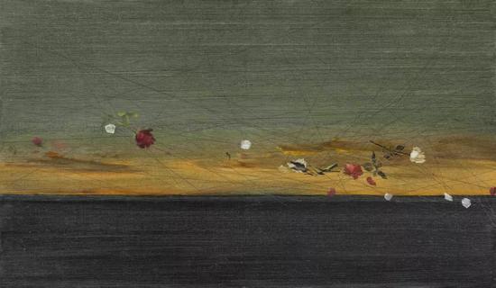 耿德法《相思染 NO.2》70x120cm 布面油画 2017年