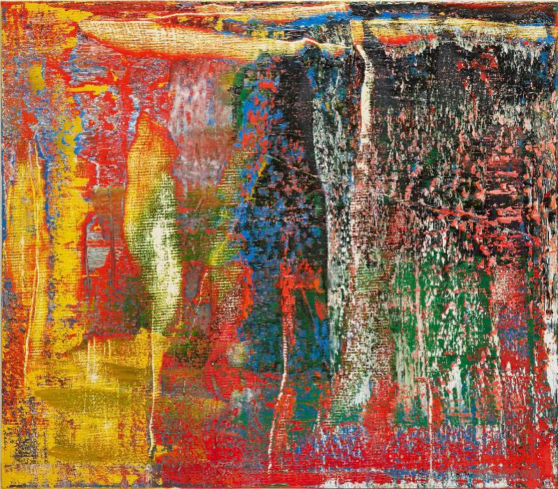 格哈特·里希特《抽象画(940-7号)》(2015年作)