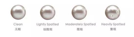 天然珍珠的瑕疵等级