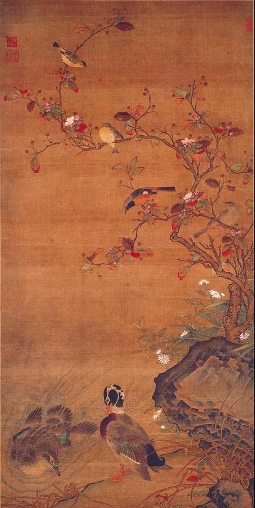 元 任仁发 《秋水凫鹥图轴》 上海博物馆提供