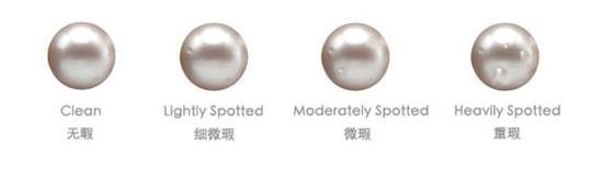 天然珍珠瑕疵等级