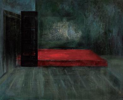 贾欣雨作品 藏NO.2 80x100 cm 布面油画 2015