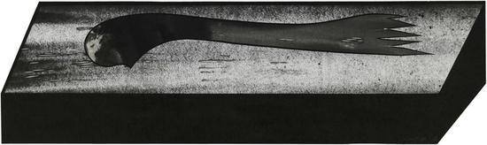 王非 异域No.23 59×158cm 纸本水墨 2018