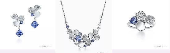 图为[Tiffany Paper flowers]花韵系列