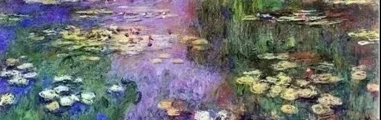 法国画家克劳德·莫奈《睡莲》