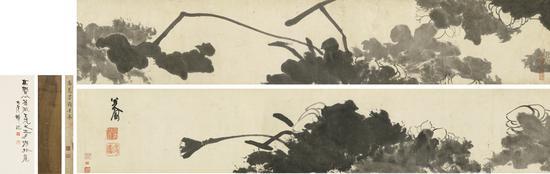 八大山人(1626-1705) 墨荷图
