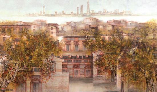上海(国画)汪家芳