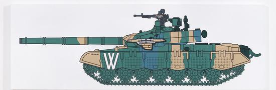 《W坦克D10-02》